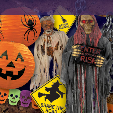 Halloween Accessories, decorations and supplies to help you complete your Halloween decor with PartyCheap.