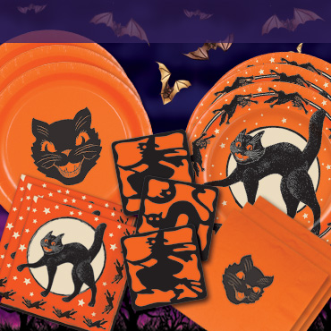 Halloween Tableware, Cups, Plates & Napkins - keep the spooky atmosphere while your guest eat!