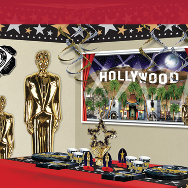 Hollywood Awards Night Scene