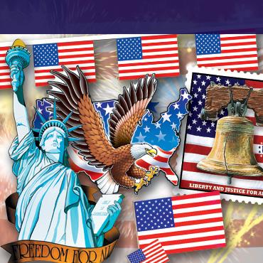 Patriotic Party Supplies & Decorations