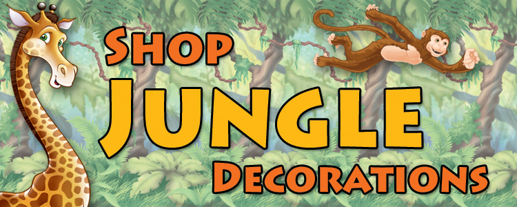 Jungle Decorations and Party Supplies