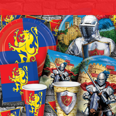 Medieval Party Tableware, Cups & Plates