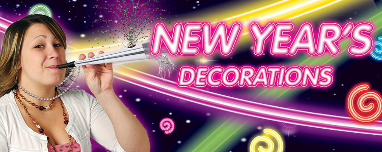 New Years Party Supplies and Decorations