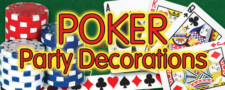 Poker Party Supplies & Decorations