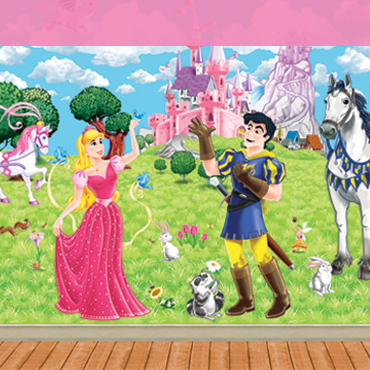 Princess Backdrops and Props