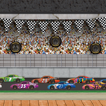 Racing Party Backdrops