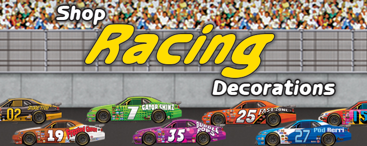 Racing Party Decorations
