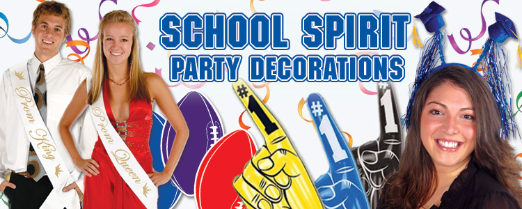 School Spirit Decorations & Party Supplies