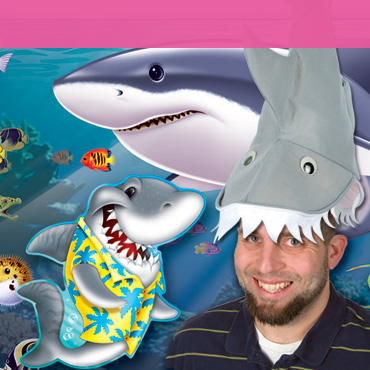Shark Party Supplies & Decorations