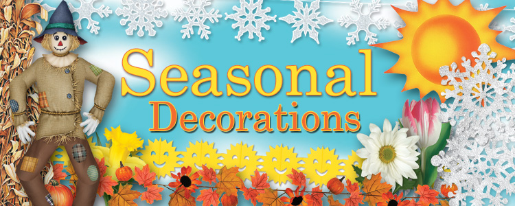 Seasonal Party Supplies and Decorations