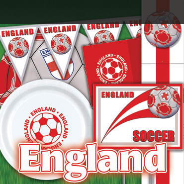 England Soccer Decorations