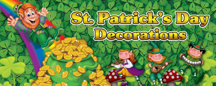 St Patrick's Day Decorations & Party Supplies