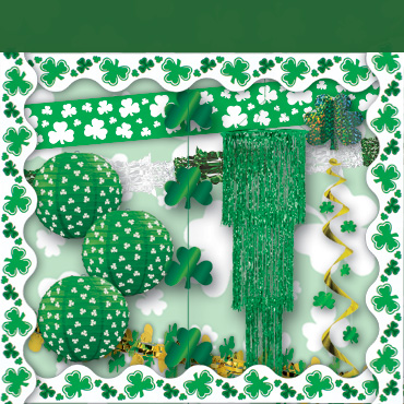 St Patrick's Day Hanging Decorations