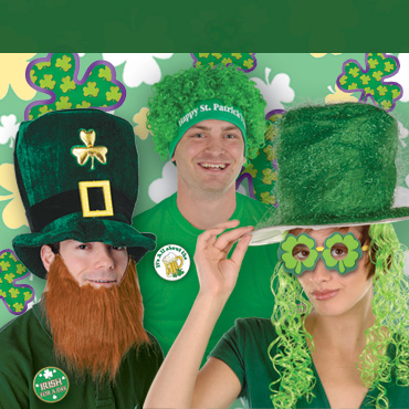 St Patrick's Day Apparel & Hats