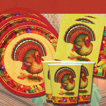 Thanksgiving Party Tableware