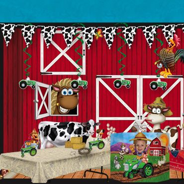 VBS Farm Theme Decorations