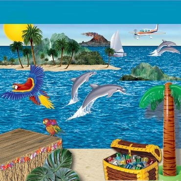 VBS Nautical & Tropical Theme Decorations
