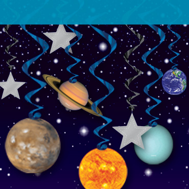 VBS Outer Space Theme Decorations