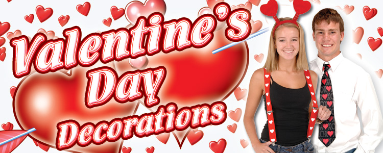Valentine's Day Decorations & Party Supplies