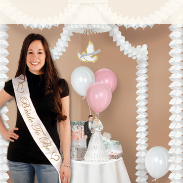 Bridal Shower Party Supplies and Decorations