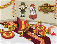 Thanksgiving Party Supplies & Decorations
