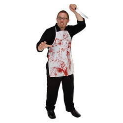 Halloween Horror Fabric Novelty Apron