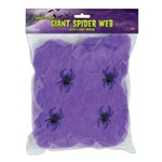 Purple Flame-Resistant Giant Spider Web