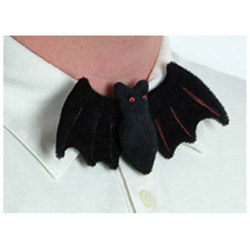 "Plush Bat Bow Tie, 2½""x6""  (1/Pkg)"