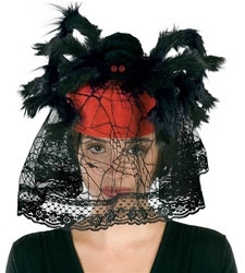 Spider Hat with Veil