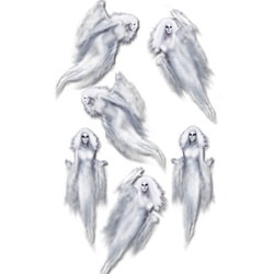 Ethereal Ghost Props (6/Pkg)