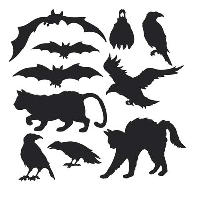 Halloween Silhouettes - PartyCheap