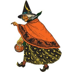 Classic Witch Cutout