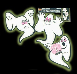 Nite-Glo Ghosts (3/pkg)