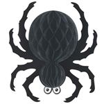 Black Tissue Spider 18 in