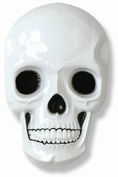 Plastic Skull Decoration - Large