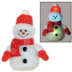 Light-Up Snowman Decoration (Small)