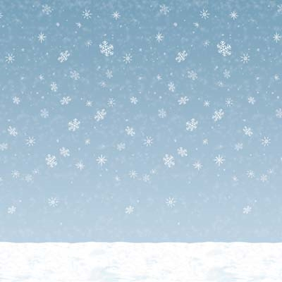 Winter Sky Backdrop PartyCheap