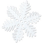 Sparkle Snowflake, 8 in