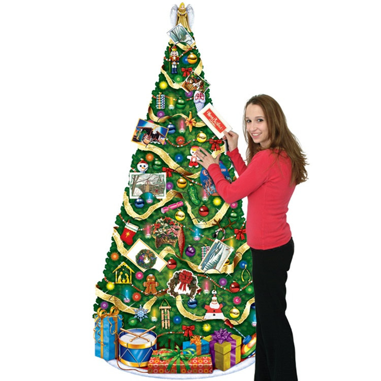 Christmas tree card holder partycheap for Christmas tree holder