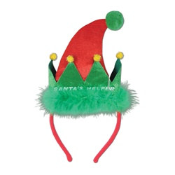 Santa's Helper Headband