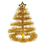 Gold Christmas Tree Centerpiece