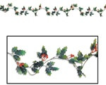 Artificial Holly Berry Garland
