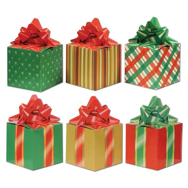Diy Christmas Favor Boxes : Christmas favor boxes pkg partycheap
