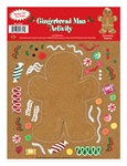Gingerbread Man Sticker Activity