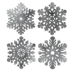 Silver Snowflake, 15 inch (Sold Individually)
