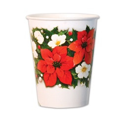 Poinsettia Cups (10/pkg)