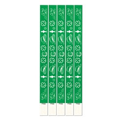 St. Patrick's Day Tyvek Wristbands