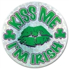 Kiss Me I'm Irish Button