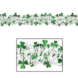 Metallic Shamrock Garland