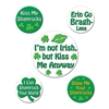 St. Patrick's Humorous Party Buttons